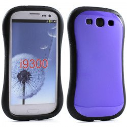 Samsung Galaxy S3 Candy Shell Case (Purple)