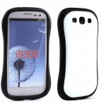 Wholesale Samsung Galaxy S3 Candy Shell Case (White)