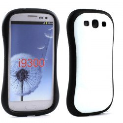 Samsung Galaxy S3 Candy Shell Case (White)