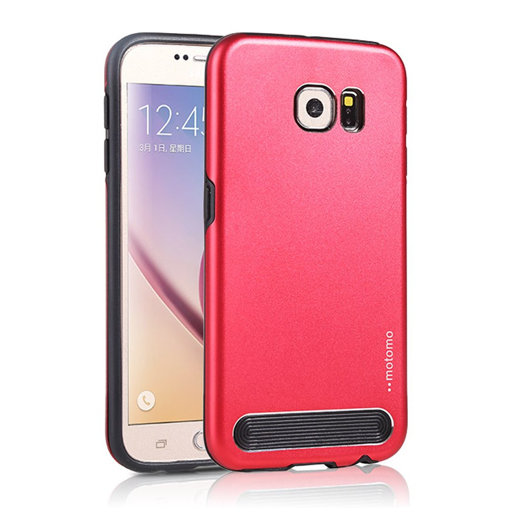 wholesale samsung galaxy s6 edge plus aluminum armor hybrid case red. Black Bedroom Furniture Sets. Home Design Ideas