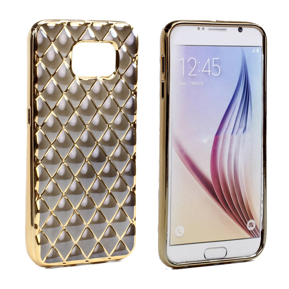 brand new 8a412 2f51d Wholesale Samsung Galaxy S6 Edge Exotic Electroplate Soft Hybrid ...