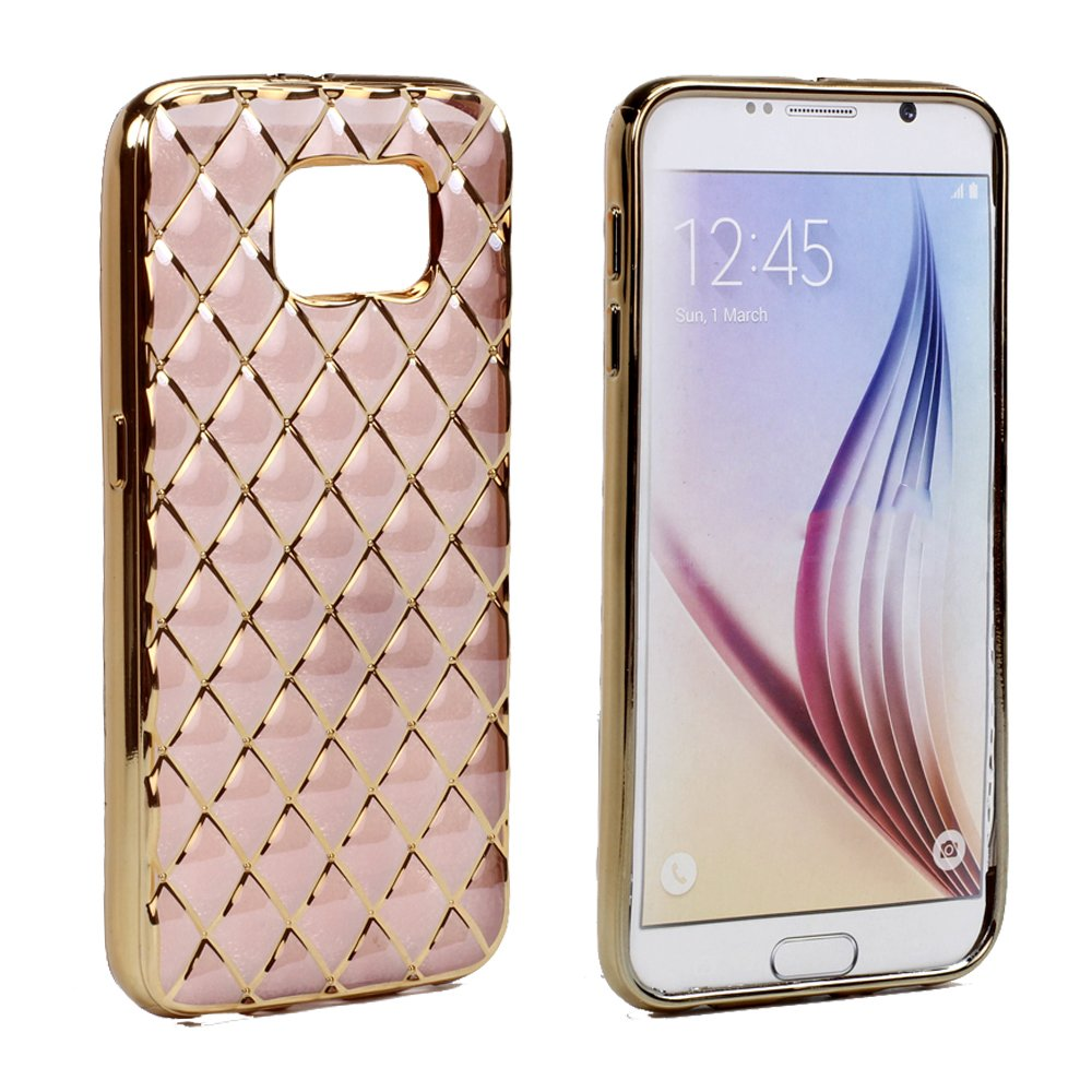 wholesale samsung galaxy s7 exotic electroplate soft hybrid case rose gold. Black Bedroom Furniture Sets. Home Design Ideas