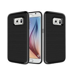 Samsung Galaxy S7 Edge Impact Hybrid Case (Black)