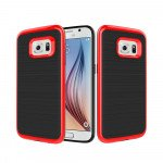 Wholesale Samsung Galaxy S7 Edge Impact Hybrid Case (Red)