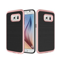 Samsung Galaxy S7 Edge Impact Hybrid Case (Rose Gold)
