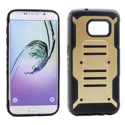 Samsung Galaxy S7 Cool Hybrid Case (Champagne Gold)
