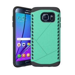 Galaxy S7 Strong Shield Hybrid Case (Green)