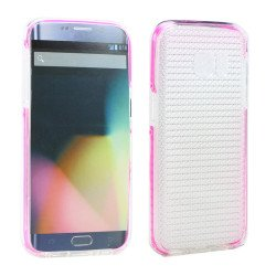 Samsung Galaxy S7 Shockproof Air Case (Hot Pink Clear)