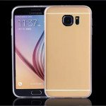 Wholesale Galaxy S7 Slim Aluminum Hybrid Case (Champagne Gold)