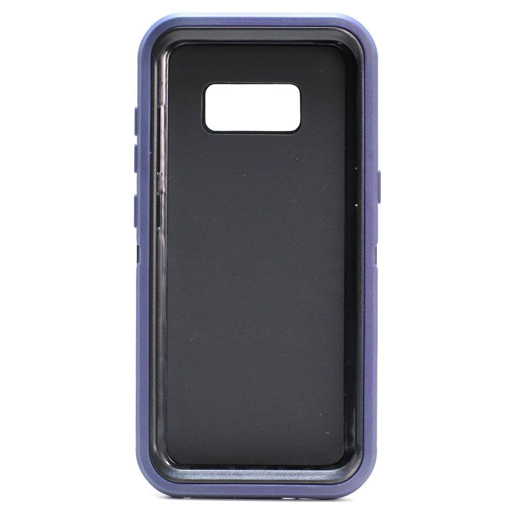 buy online c6920 ef651 Wholesale Galaxy S8 Plus Armor Defender Case (Navy Blue Black)
