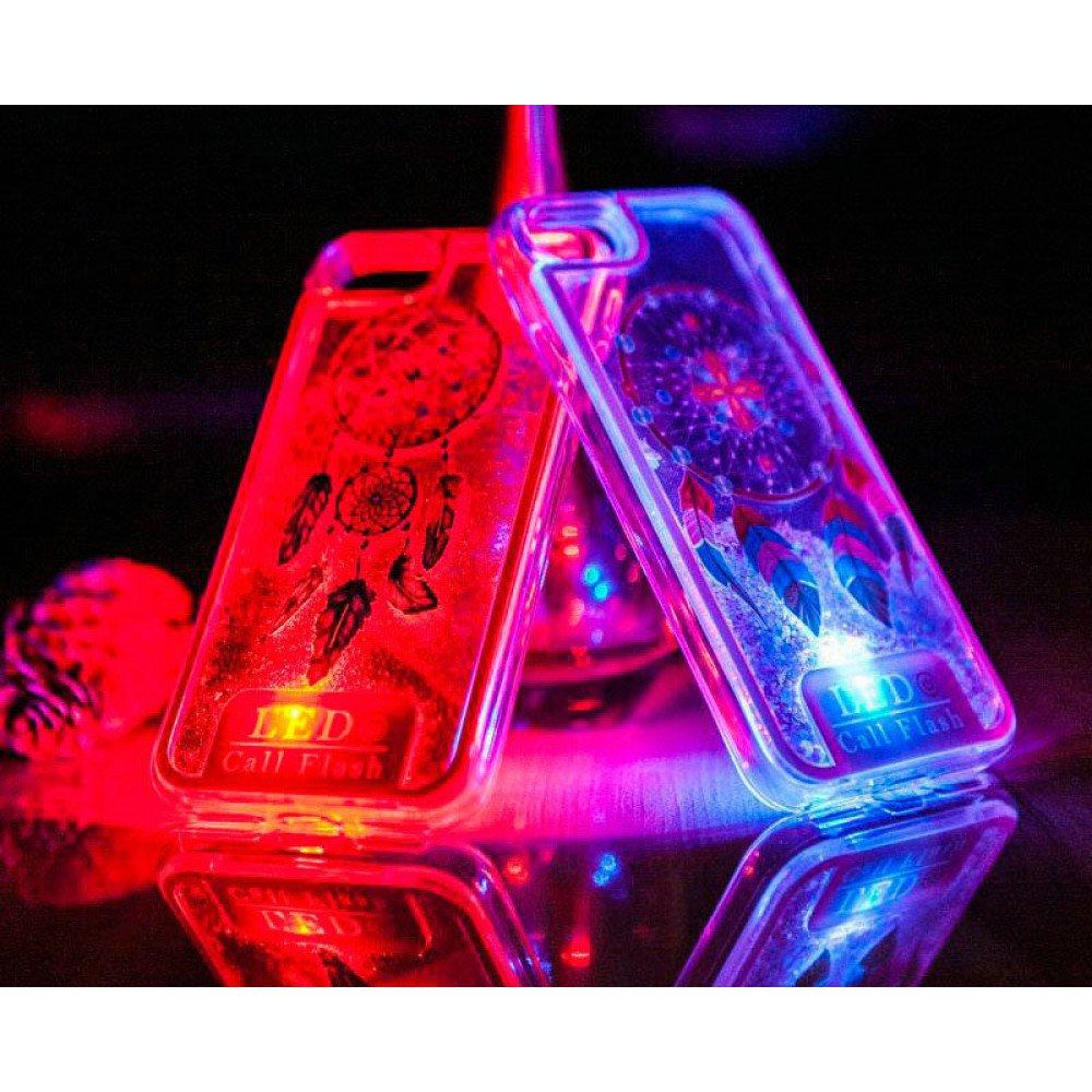 Case Design phone cases for metro pcs : Wholesale Samsung Galaxy S8 Plus LED Flash Design Liquid Star Dust ...