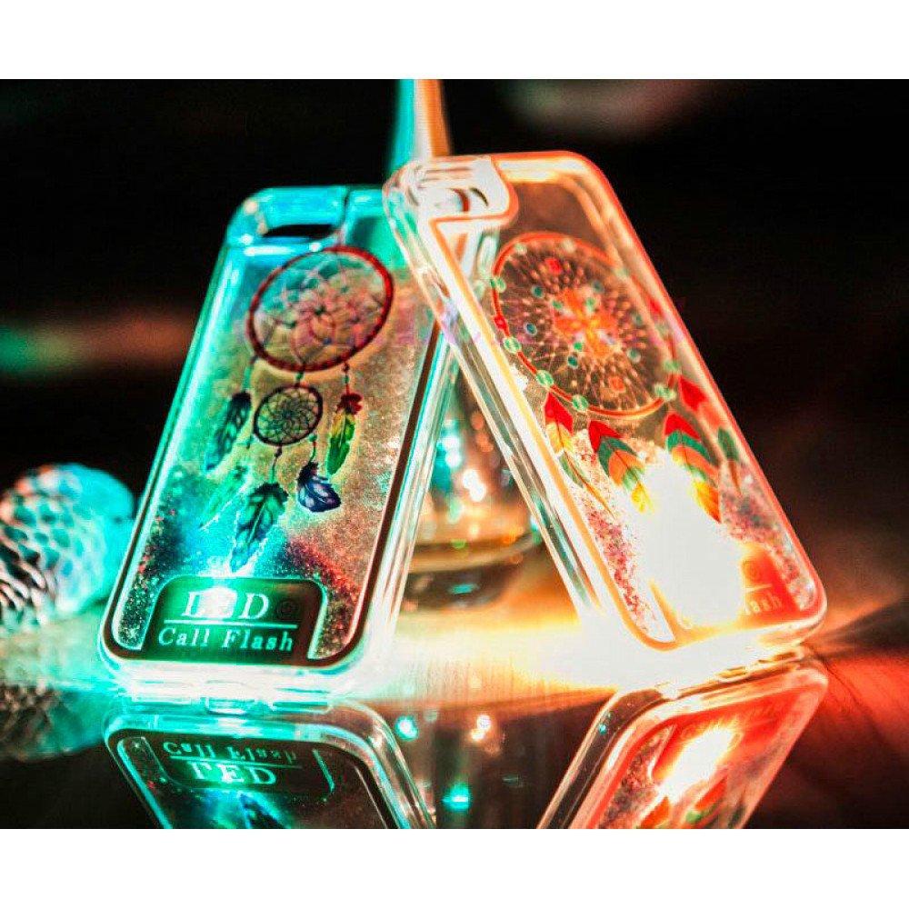 Wholesale Samsung Galaxy S8 Plus LED Flash Design Liquid Star Dust ...