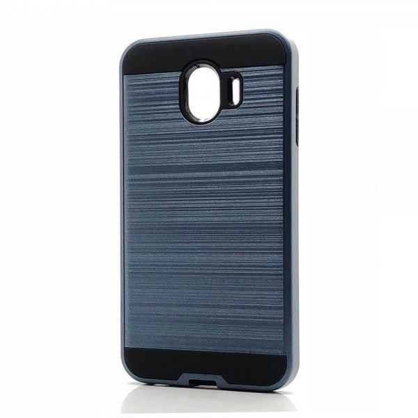 Wholesale Samsung Galaxy J2 Core J260 Armor Hybrid Case (Navy Blue)