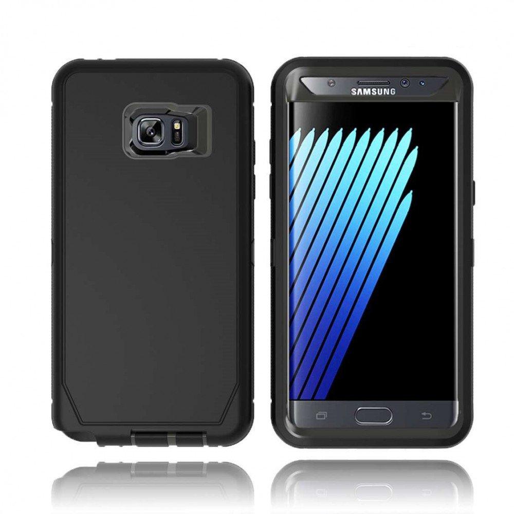 Wholesale Galaxy Note Fe Fan Edition 7 Premium Armor Samsung Defender Case Black