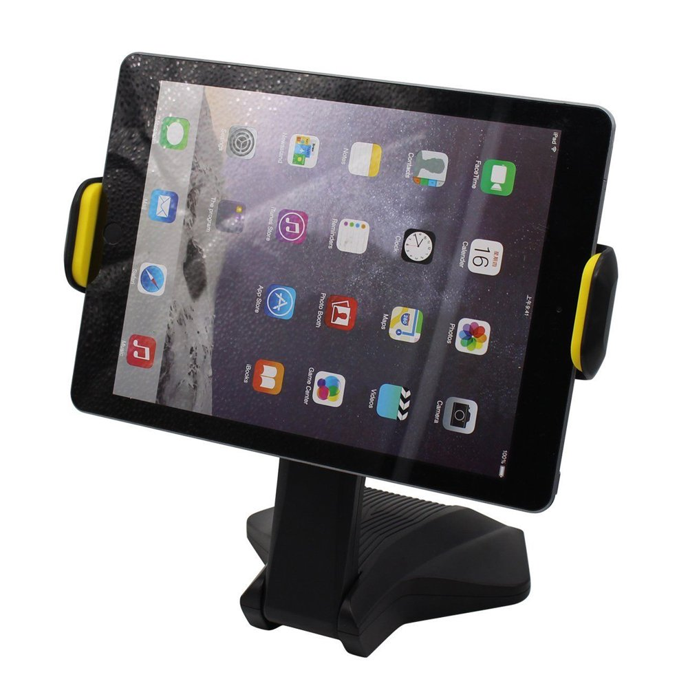 Wholesale Universal Desk Table Tablet Mount Stand Holder (Black Yellow)
