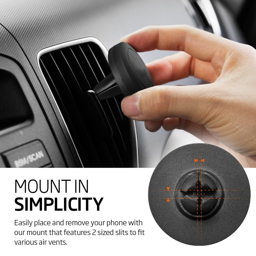 Wholesale Universal Magnetic Air Vent Car Mount Holder Gray