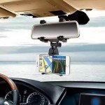Wholesale Universal Car Rear view Mirror Mount Cradle JHD97 (Black)