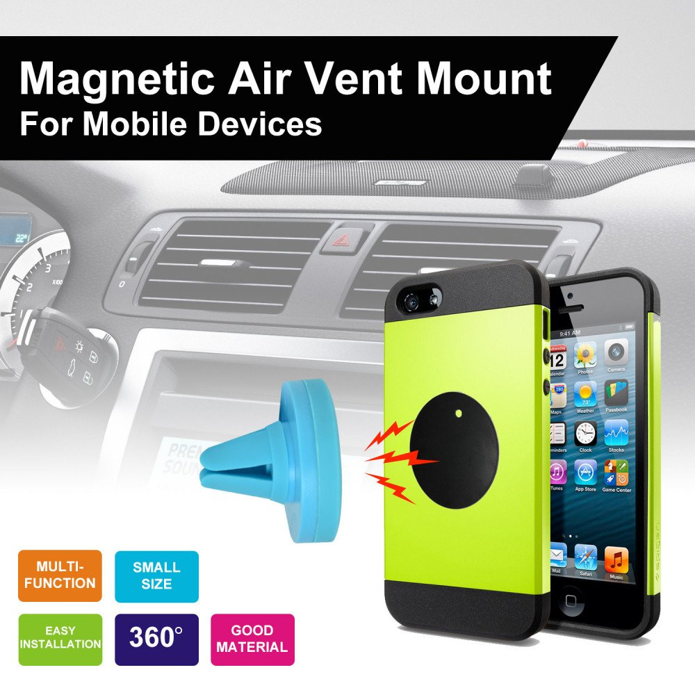 Wholesale Universal Magnetic Air Vent Car Mount Holder Qy Blue