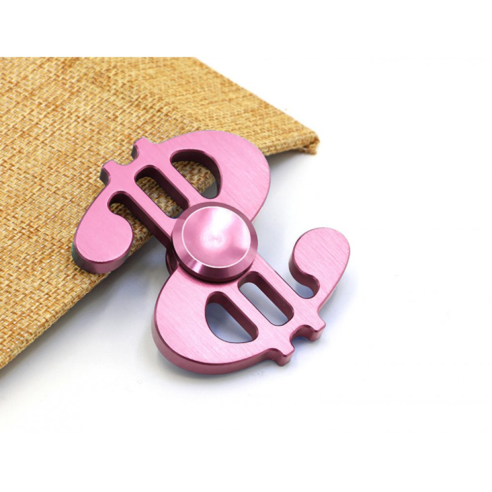 Wholesale Dollar Sign Aluminum Meta Fidget Spinner Hand Stress Reducer Toy For Anxiety Adult Child Mix Color