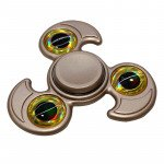 Wholesale Eagle Design Aluminum Metal Fidget Spinner Stress Reducer Toy for Autism Adult, Child (Silver)