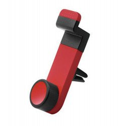 Portable Car Air Vent Mount Holder (Red-Black)