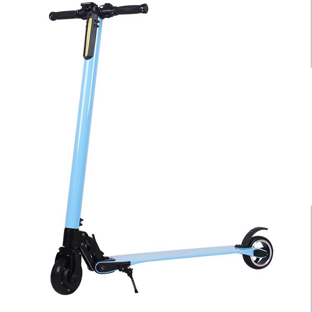 Wholesale Electric Scooter Foldable Portable E Scooter Blue