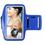 Samsung Galaxy Note 4 3 2 Sports Armband (Blue)