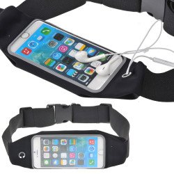 iPhone 6s / 6 4.7 Universal Sports Pouch Belt (Black)