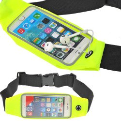iPhone 6s Plus / 6 Plus 5.5 Universal Sports Pouch Belt (Fluorescent Green)