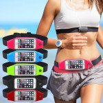 Wholesale iPhone 6s / 6 4.7 Universal Sports Pouch Belt (Hot Pink)