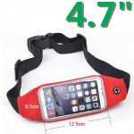 Wholesale iPhone 6s / 6 4.7 Universal Sports Pouch Belt (Red)