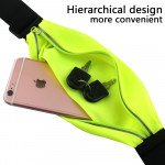 Wholesale iPhone 6s / 6 4.7 Universal Sports Pouch Belt (Fluorescent Green)
