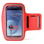 Samsung Galaxy S4 S3 Sports Armband (Red)