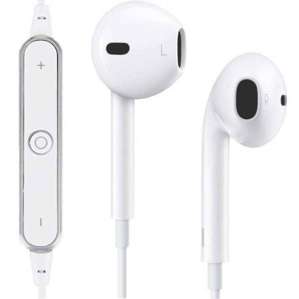 wholesale iphone 7 earbuds wireless bluetooth stereo sports headset bt10 white. Black Bedroom Furniture Sets. Home Design Ideas