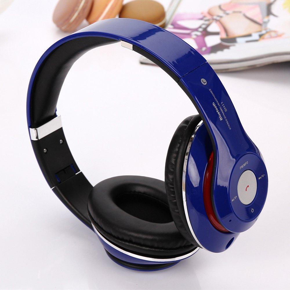 Wholesale HD Wireless Bluetooth Stereo Headset SH11 (Navy Blue