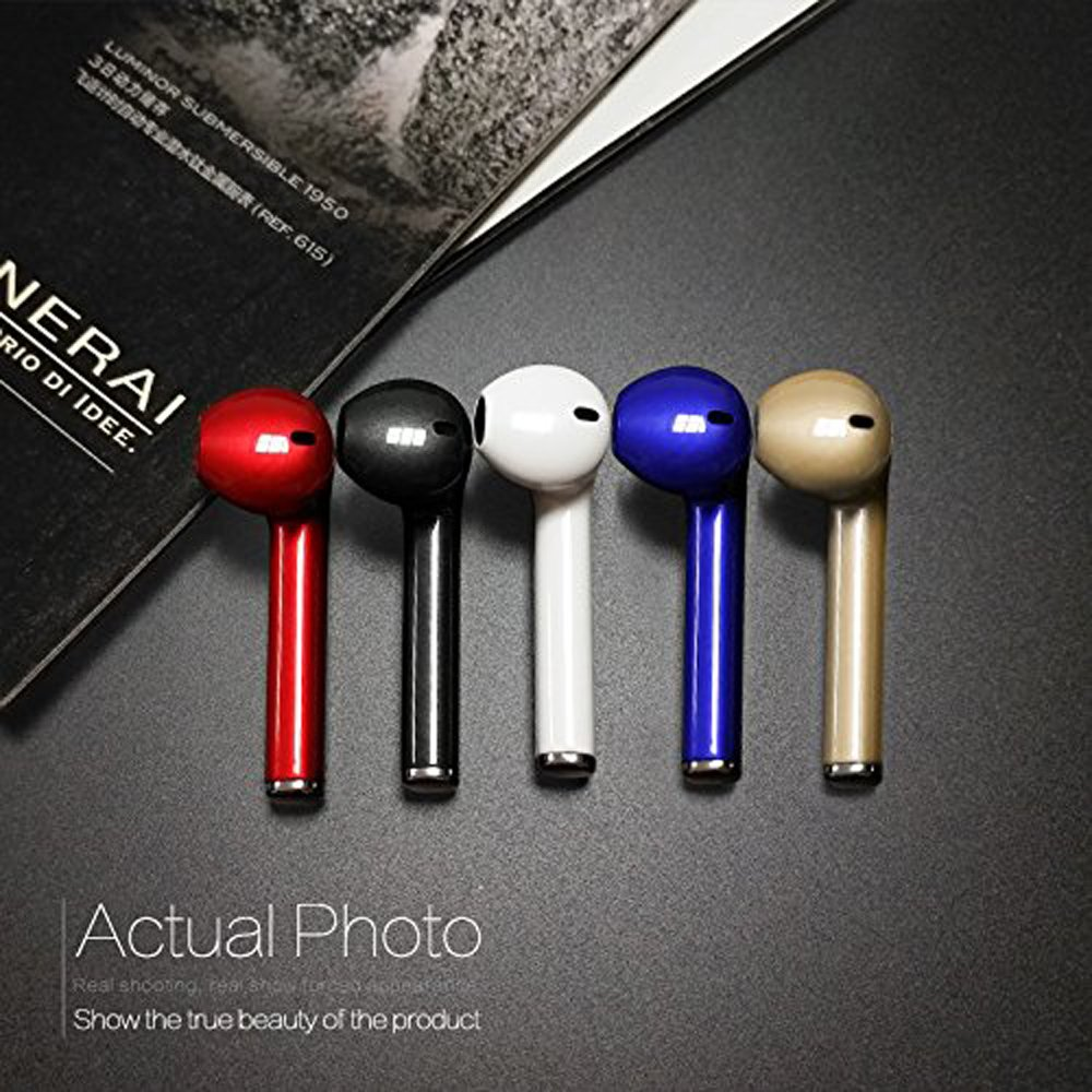 wholesale iphone style bluetooth wireless earbuds headset right side only white. Black Bedroom Furniture Sets. Home Design Ideas