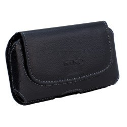 Galaxy Note 2 3 Extendable Horizontal Pouch (Slim Black)