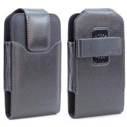 Galaxy Note 5 Vertical Armor Belt Pouch (Black)