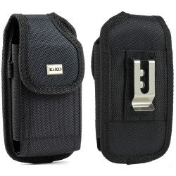 Samsung Galaxy Note 2 Extendable Vertical Vinyl Belt Pouch (Black)