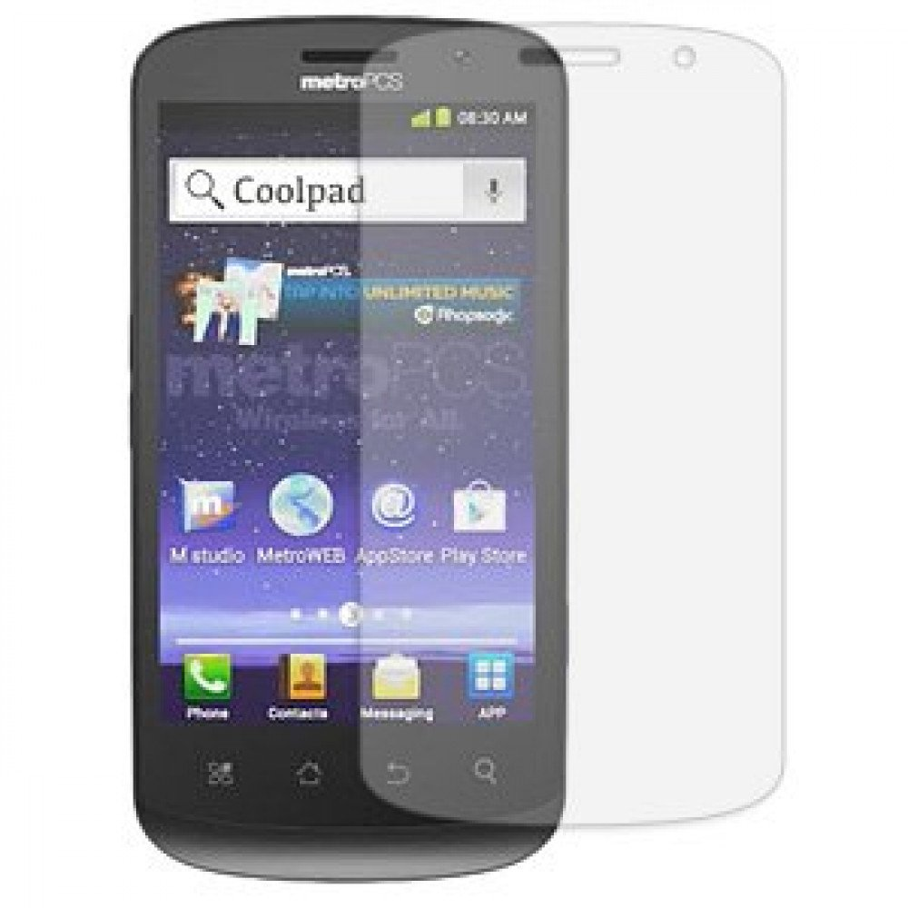 Wholesale Coolpad Quattro 4g 5860e Clear Screen Protector
