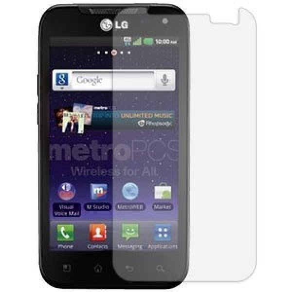 Wholesale Transparence Screen Protector for LG Connect 4G /  MS840