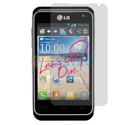 Clear Screen Protector for LG Motion 4G / MS770