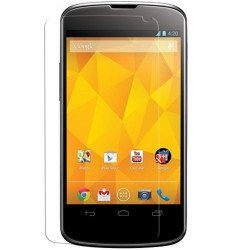 Clear Screen Protector for LG Nexus 4 / E960
