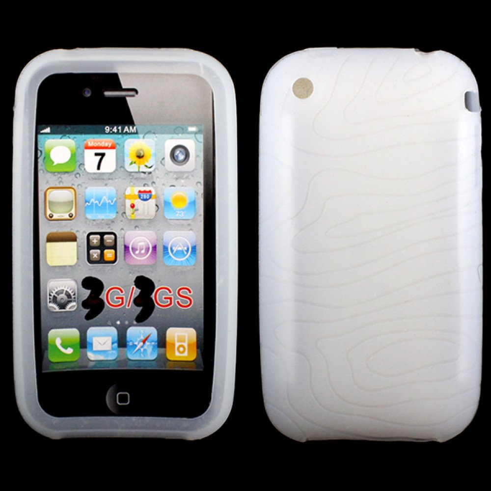 Wholesale Iphone 3gs Silicone Case White