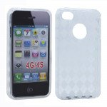 Wholesale iPhone 4S 4 Argley TPU Gel Case (Clear)