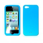 iPhone 5 Silicone Skin Case (Blue)