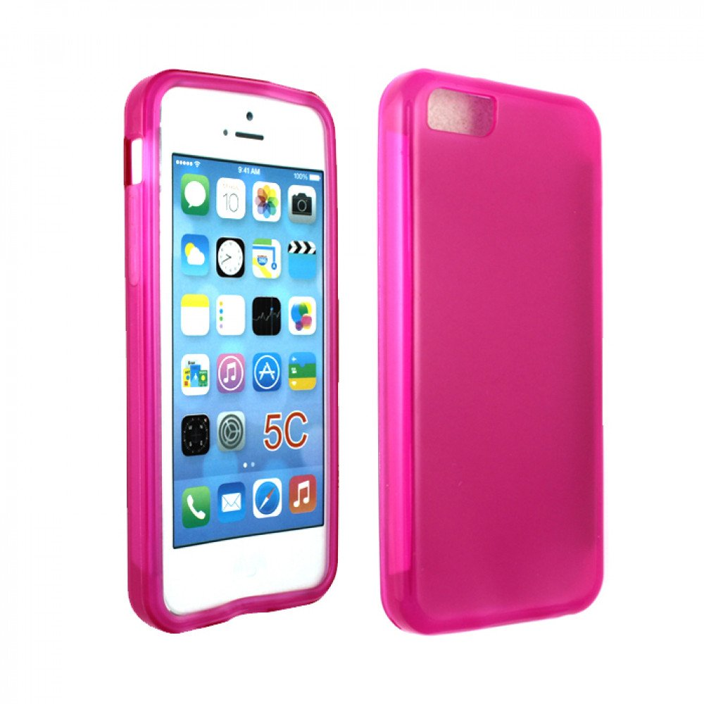 pink iphone 5c iphone 5c tpu gel pink 12775