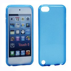 iPod Touch 5 TPU Gel Soft Case (Blue)