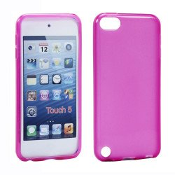 iPod Touch 5 TPU Gel Soft Case (Hot Pink)