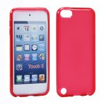 Wholesale iPod Touch 5 TPU Gel Soft Case (Red)